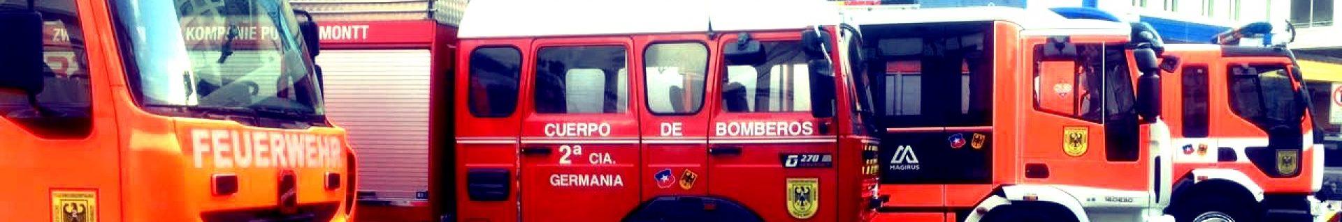 """Segunda Compañía de Bomberos """"GERMANÍA"""" de Puerto Montt"""